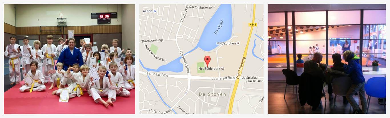 locatie judo zutphen